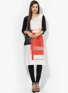Indian Kurta, Monochrome Color, Well Dressed, Product Launch, Kurtis, Stuff To Buy, Shopping, Printed, Collection