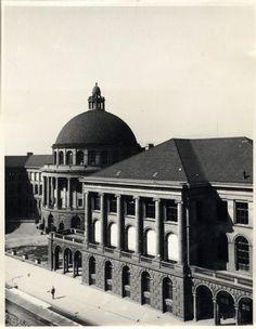 Zürich, ETH Zürich, Hauptgebäude (HG), Fassade Ost. Ans_00024-A
