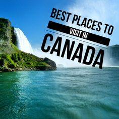 Looking for the best places to visit in Canada? I round up some of the must visit places in Canada. Cool Places To Visit, Places To Travel, Travel Destinations, Dream Vacations, Vacation Spots, Places Around The World, Around The Worlds, Bali, Thailand