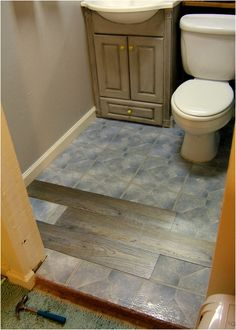 replacing vinyl flooring with tile in bathroom inspirational replacing vinyl flooring with tile in bathroom interior installing floating vinyl plank - Cork Bathroom Interior