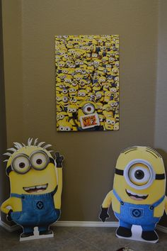 Minions Birthday Party Ideas | Catch My Party  Another great minion party!