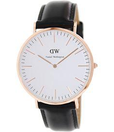 Daniel Wellington Male Sheffield  Watch  0107DW Rose Gold Analog Sale price. $148.95