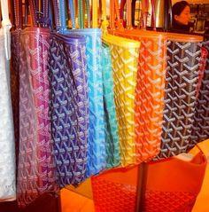 Every color Goyard bag