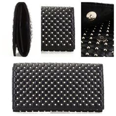 """NFS Guiseppe Zanotti Studded Leather Clutch Just got this studded leather clutch  the Length:10.5"""" Width:2.5"""" Height:6.5"""" and omg it's so cute not sure what the name of it is do any of you posh lady's  know? Giuseppe Zanotti Bags Clutches & Wristlets"""