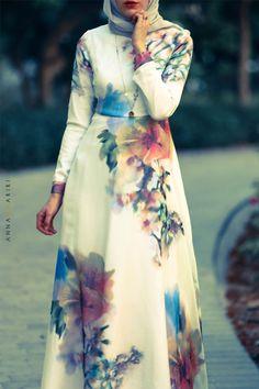 Silk Flower DRESS | ANNAH HARIRI | ANNAH HARIRI  I WANT THIS SO BAD