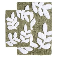 2-Piece Vienna Bath Rug Set in Sage