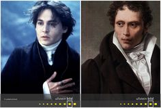 Johnny Depp | Arthur Schopenhauer Johnny Depp, Den, Fictional Characters, Time Travel, Celebrities, Figurine, Fantasy Characters