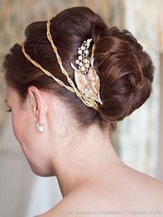 Wedding Hair Styles - Wedding Updos | Wedding Planning, Ideas & Etiquette | Bridal Guide Magazine
