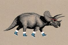 Poster | TRICERATOPS von Chase Kunz | more posters at http://moreposter.de