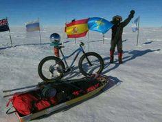 News: Unsupported Trip to South PoleOn a Fat Bike!   Singletracks Mountain Bike Blog #fatbike #bicycle