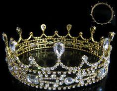 Crown/Medieval Castle Royal Gold King Crown