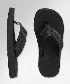 Reef Sandy flip-flops---can't go a summer without them!