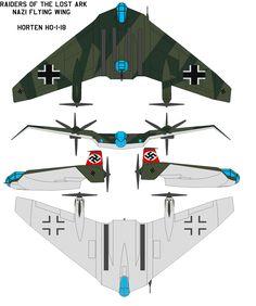 Indiana Jones Nazi Flying Wing by bagera3005.deviantart.com on @deviantART