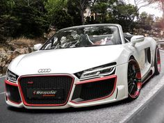 Audi R8 Spyder Restyled by Regula Tuning - not a fan of Audi's but this is sweet!