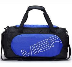 Men's Bags, Duffle Bags, Small Gym Sports Bag for Men and Women with Shoes Compartment - blue - Rafting, Nylons, 10 Gym, Best Gym, Luggage Bags, Travel Luggage, Duffel Bag, Fashion Bags, Fashion Handbags