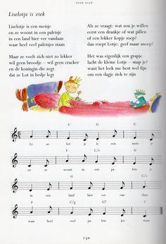 liedje Liselotje is ziek uit het Grote liedjesboek Marianne Busser, Ron Schroder en Jean van Vugt