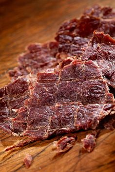Learn the basics of making jerky of all types in your backyard smoker. With patience and a little practice, smoked jerky is easy. Smoker Beef Jerky, Jerky Marinade, Pork Jerky, Smoked Beef Brisket, Smoked Pork, Venison, Beef Ribs, Beef Steak, Deer Jerky Recipe
