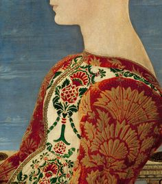 Profile Portrait of a Young Lady by Antonio del Pollaiuolo  - Click to enlarge