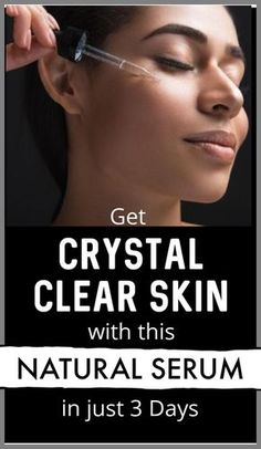 Beauty skin care routine - 3 days open challenge to get crystal clear skin, use this natural serum and see the difference Beauty Tips For Skin, Skin Tips, Beauty Hacks, Beauty Skin, Diy Beauty, Homemade Beauty, Beauty Ideas, Face Beauty, Beauty Secrets