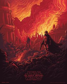 The third exclusive AMC/IMAX print I designed for Star Wars: The Force Awakens! Get your Star Wars Sunday's tickets at AMC and get an exclusive print I designed from 20th December - January 10th new print revealed each week! http://ift.tt/1Go6bpO #theforceawakens #starwars #danmumford by danmumforddraws