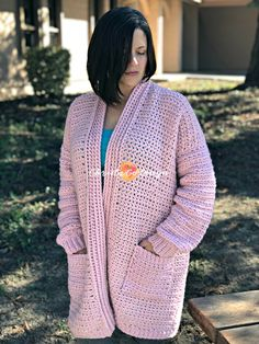 hygge homebody crochet cardigan beginner tutorial