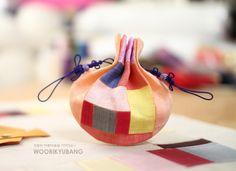 모시조각 두루주머니/복주머니 : 네이버 블로그