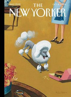 """The New Yorker - Monday, October 12, 2009 - Issue # 4328 - Vol. 85 - N° 32 - « The Money Issue » - Cover """"The Food Chain"""" by Mark Ulriksen"""