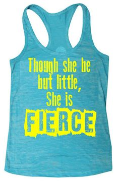 3cabdb0e621989 She is Fierce Burnout Racerback Tank Top – Lift For Meat Team Beachbody  Coach