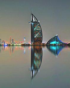 Ночная сказка Дубая