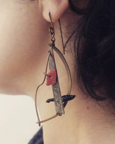 Earrings sculpture from Radica collection