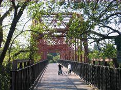 Old Fair Oaks Bridge near Old town Fair Oaks.