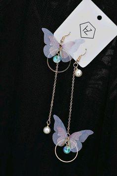 Jewelry Design Earrings, Ear Jewelry, Cute Jewelry, Fashion Earrings, Jewelery, Fashion Jewelry, Kawaii Jewelry, Kawaii Accessories, Jewelry Accessories