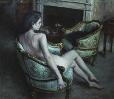 thefineartnude:  Jeremy Mann, The Room