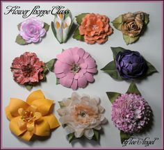 One Scrap at a Time - Cricut Flower Shoppe Tutorial