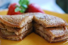 PALEO COCONUT FLOUR PANCAKES RECIPE - Easy Paleo Recipes- reminds me of Coconut pancakes from HAWAII