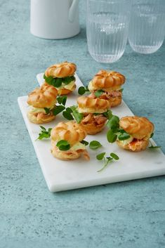 Gourmet Recipes, Dessert Recipes, Healthy Recipes, Brunch Party, Tea Party, Canapes, Yummy Eats, Fish And Seafood, Tapas