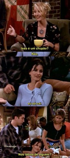Doce e Travessa — Friends - The One With Five Steaks And An. Tv: Friends, Friends Tv Show, Friends Forever, My Friend, Best Series, Best Tv Shows, Series Movies, Tv Series, Funny Memes