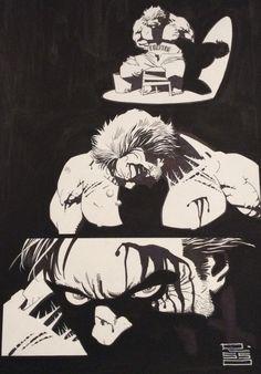 Eduardo Risso - Brother Lono par Eduardo Risso - Planche originale