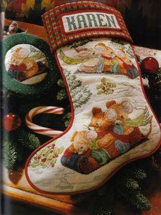 (19) Gallery.ru / Фото #30 - A CROSS-STITCH CHRISTMAS. THE SEASON FOR STITCHING - 2002 - Lunga68