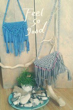 Ibiza bag Eulalia # made by Sasja # Il mio ricamo Crochet Bags, Knit Crochet, Ibiza Style, Ibiza Fashion, Crochet Accessories, Plant Hanger, Macrame, Blanket, Boho