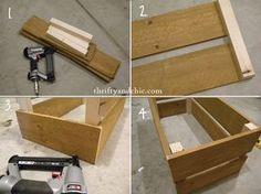 construir un cajón