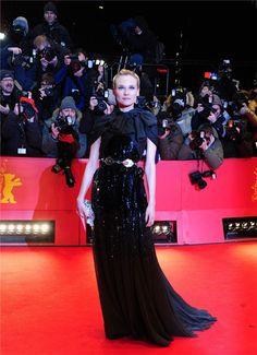 Diane Kruger, Giambattista Valli, Spring 2012 Couture, Berlinale 2012