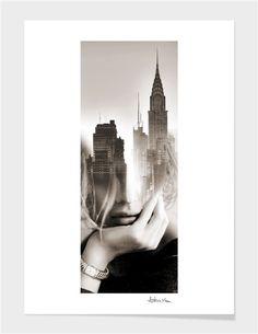 """NY nostalgie"" - Limited Edition Print by antonio mora for Curioos"
