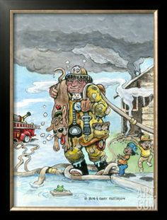 Gary Patterson Art | The Hero Framed Giclee Print by Gary Patterson at Art.com