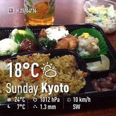 ごはん日和のお弁当でランチ