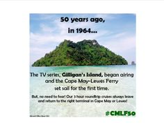 5 Days until our fun FREE weekend of 50th anniversary festivities! You can take the ferry to enjoy either side of celebrations and we promise to get you back home! #CMLF50 #FerryFun