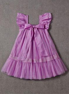 Nellystella LOVE Fiona Dress in Lavender Magenta - Nahen