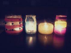 Workshop: mason jars for candles