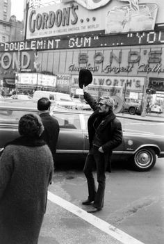 Robert Redford, New York City 1969. Just a few blocks away, at the Biltmore Theater on 47th Street, was where the actor got his first major notices as the star of Neil Simon's 1963 Broadway play, <em>Barefoot in the Park</em>.