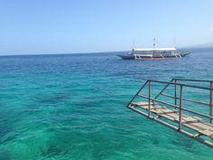 Dreamlike water in Liloan port, Cebu,Philippines
